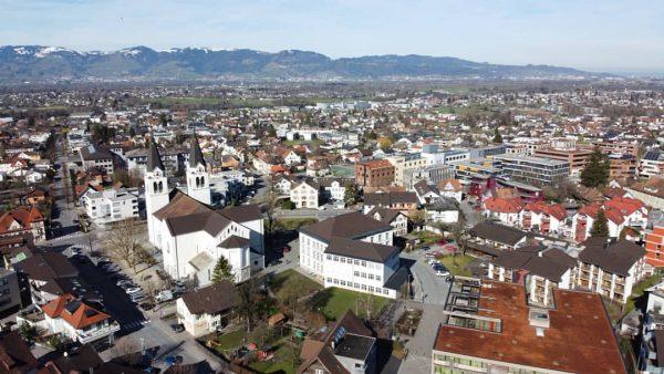 #götzis #vorarlberg #vonoben #aussicht #panorama #birdsview Götzis