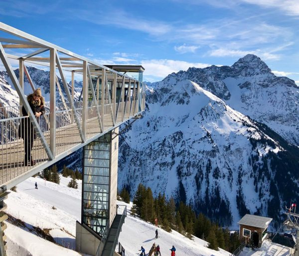 #walmendingerhorn #berge #winter #kleinwalsertal #austria Skigebiet Walmendingerhorn