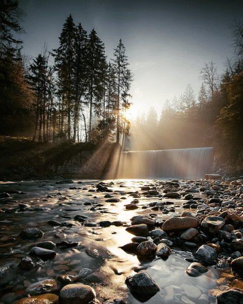 Cold winter morning at Rotes Tor waterfall ❄️🥶 ▫️ ▫️ ▫️ ➡️ Follow ...
