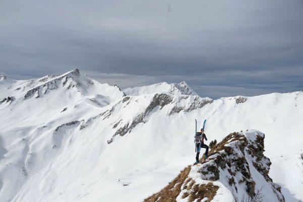 Skitour auf d Unspitze (1923m) von Baad . . . . #skitour #winter ...