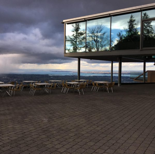 #reflection #restaurant #karren #austria #view #moutain Karren Dornbirn