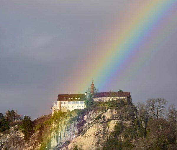 Rain is not always bad! #regenbogen #bregenz #visitbregenz #gebhardsberg #heimat #hobbyfotografie #thebeautyofnature #rain ...