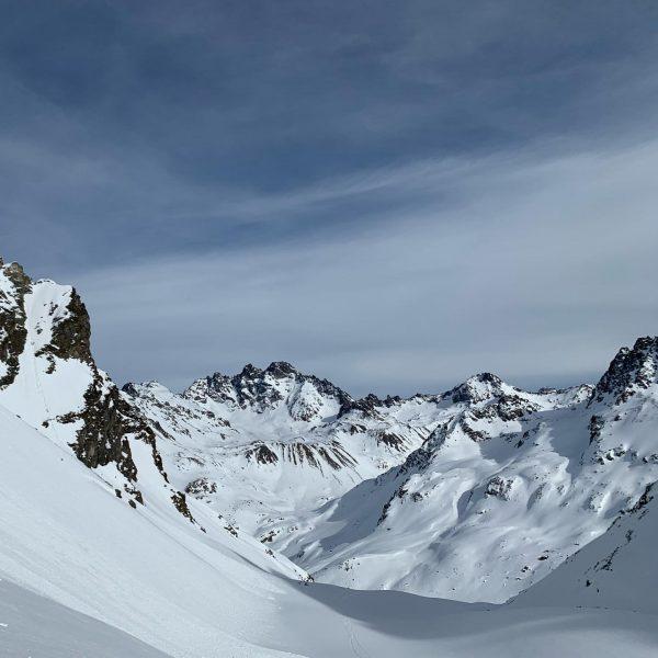 Tour zum Totenkopf Ferner Silvretta 🌞🌞 #skibergsteigen #naturelove #skimountaineering #montafon #silvretta #alps #mountains ...