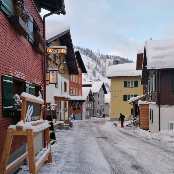 Guten Morgen aus dem verschneiten Stuben 😊👍 Stuben, Vorarlberg, Austria