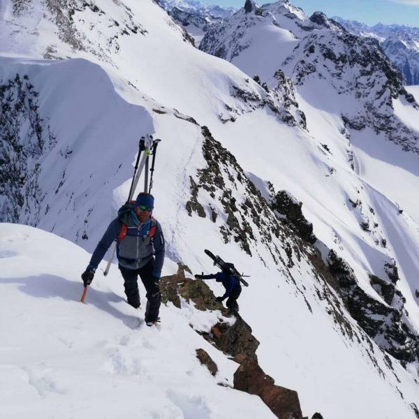 Was für eine Hammer Tour😊 Bielerhöhe - Ochsentaler Gletscher - Silvrettahorn ( 3244m ) - Piz Grambola...