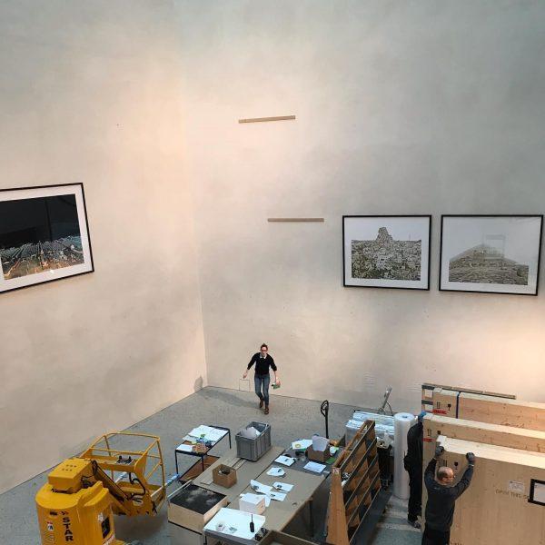 """Bye bye """"Imperium Romanum"""" by Alfred Seiland. This exhibition was impressiv! @vorarlberg_museum"""