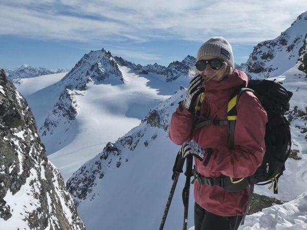 Ich mag lange romantische Spaziergänge #skitour #3101m . . . . #silvretta #montafon ...