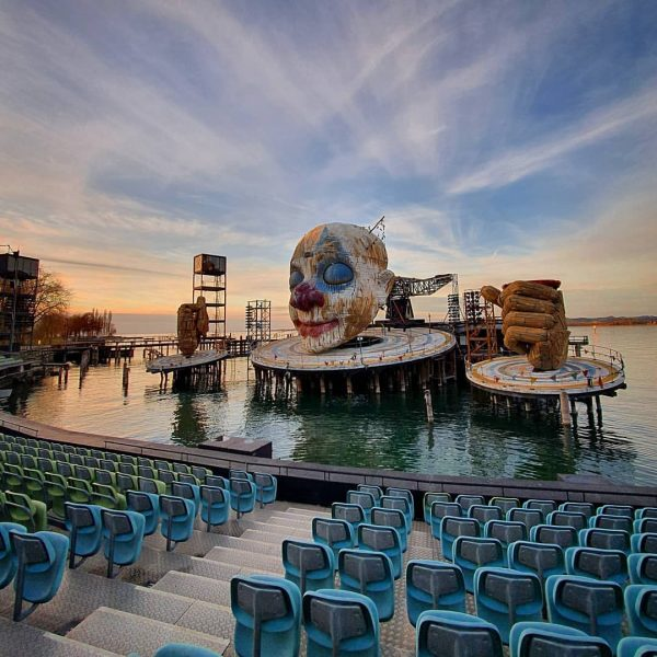 The impressive stage of Bregenz Festival