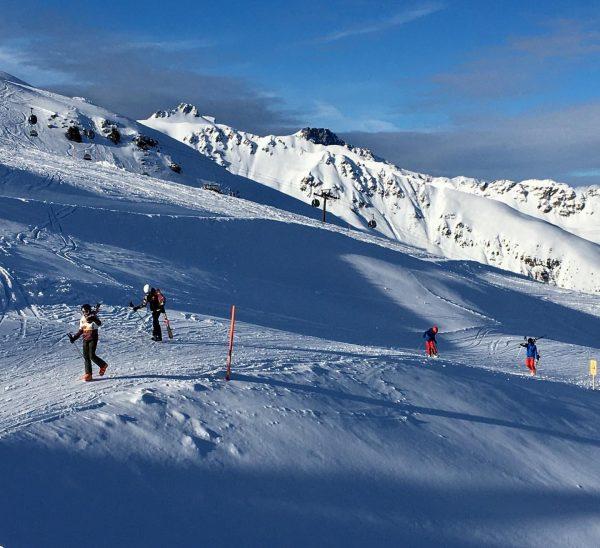 """""""Herrrrliches Wetter zum skifahren""""😎 #silvrettamontafon #brandnertal #derhenriunddertoni #franzklammer #modernfamily #willies #gargellen #gasssssgeben Gaschurn, ..."""