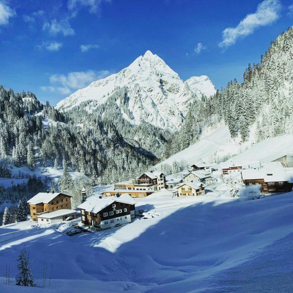 #winter in #Schröcken #schoppernau #Vorarlberg #❄️ #⛷ .................................. #winterwonderland #mountains #winter #sking #snow ...