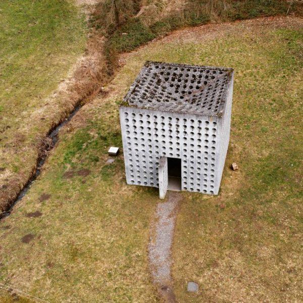 Wasserhaus Götzis aus einem etwas anderen Winkel #götzis #vorarlberg #starbogast #birdsview #birdview Götzis