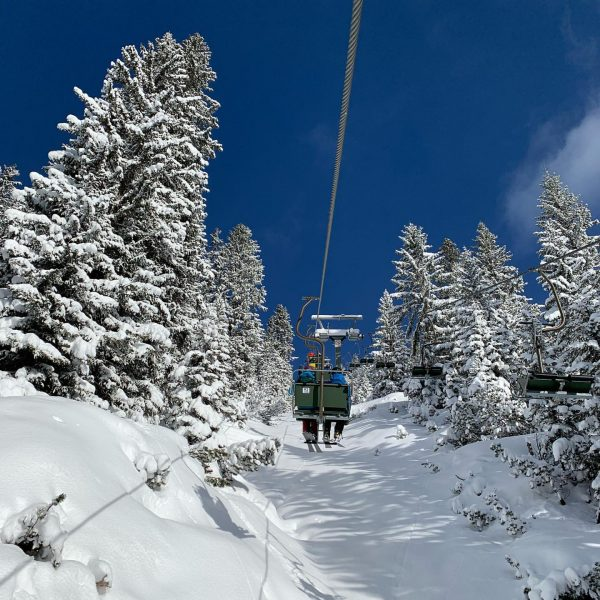 Ein Skitag Lech, Vorarlberg, Austria