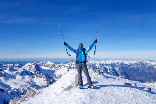 Die letzten drei Tage war ich auf Schneeschuhtour unterwegs im Montafon. Genauer gesagt ...