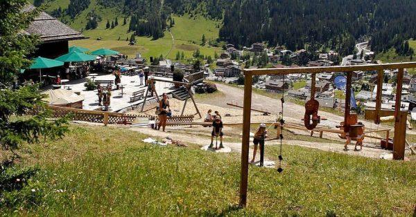 Spielplatz auf der Rud-Alpe 🤗 Wir haben noch bis zum 23. September geöffnet! ...