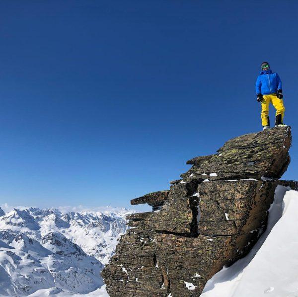 Drei Tage in der Silvretta bei Sonnenschein und Powder und Sturm und Eis. ...