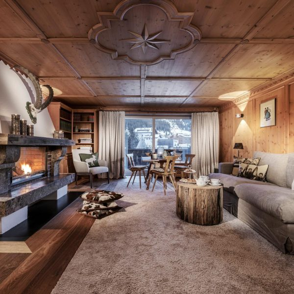 The stunning living room of our Arlberg Suite is all we need right ...
