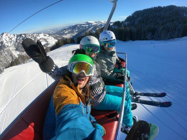 What a day! #snowboarding #fun #home #Damüls #gopro #winter