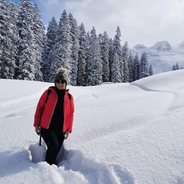 Winter Wonderland ❄️ #montafon #lindauerhütte #bergluft #bergwelten #schnee #friendshipgoals #schlittenfahren #girls