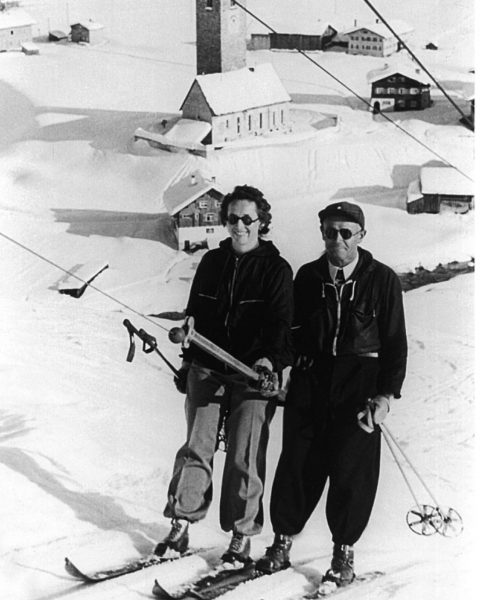 Oma Ida Schneider, geb. Elsensohn, mit Opa Ludwig Schneider. Sie haben vor 87 ...
