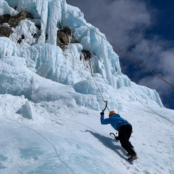Eisklettern Fotoshooting in der Silvretta. Tolle neue Erfahrung. Hat Mega Spaß gemacht. Ab ...