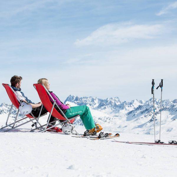 Gestern wurden wir mit einem Skitag wie er im Buche steht verwöhnt! ☀️ ...