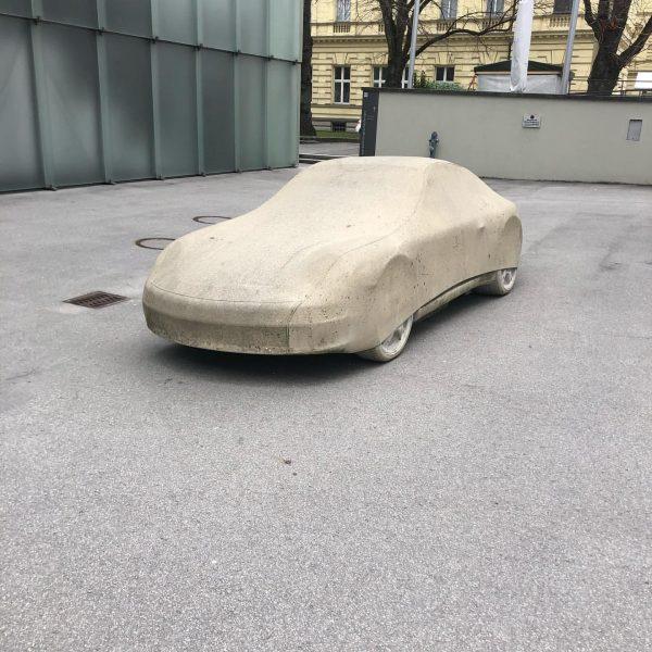 Porsche 911 gesichtet Kunsthaus Bregenz