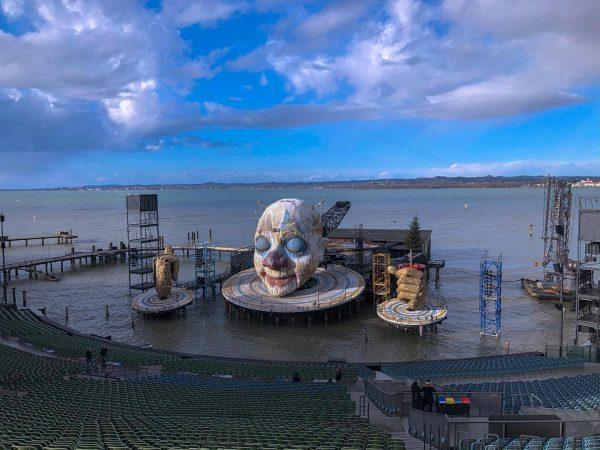 Bregenzer Festspiele es un anfiteatro al aire libre ubicado en el lago Constanza- ...