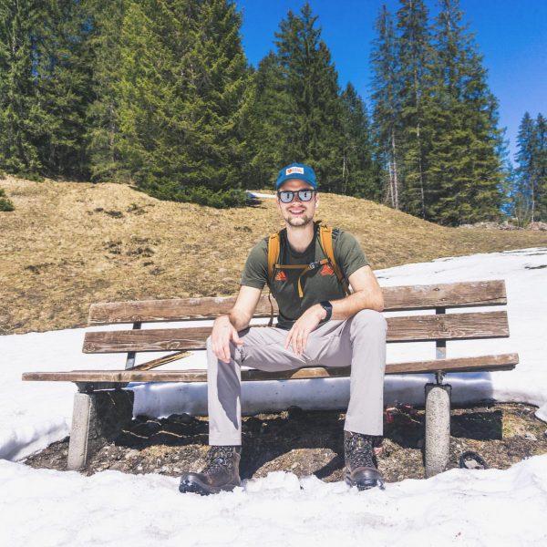 We mogen dan misschien een tijdje niet naar de bergen en de sneeuw. ...