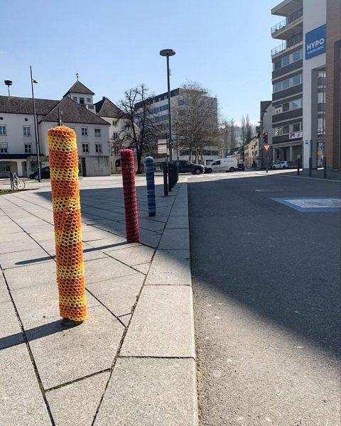 Create happiness if you can't find it! #spreadlove #splo #dornbirncity #marktplatz #ländle #vorarlberg ...
