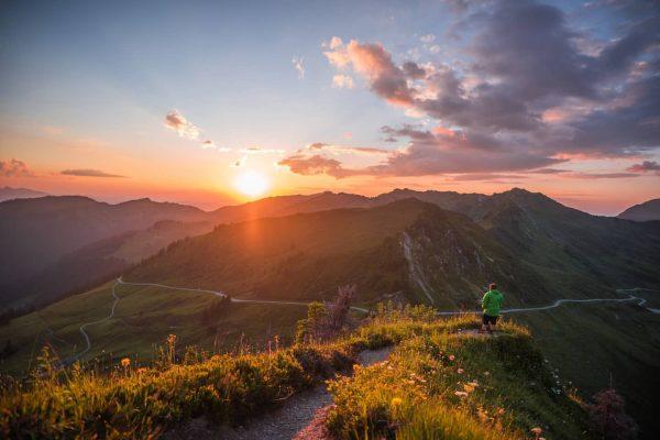 Kennst du einen schöneren Sonnenuntergangs Platz in Vorarlberg als wie diesen? Das ist ...