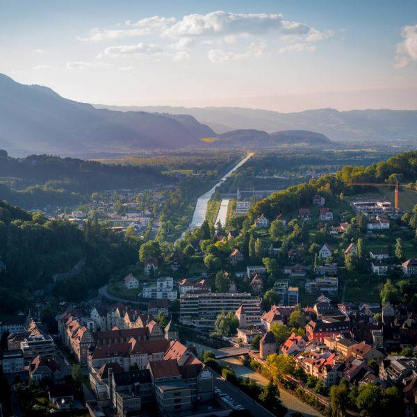 Feldkirch: ein Thema das wir noch so gezeigt haben sind Landschaftsbilder von Vorarlberg. ...