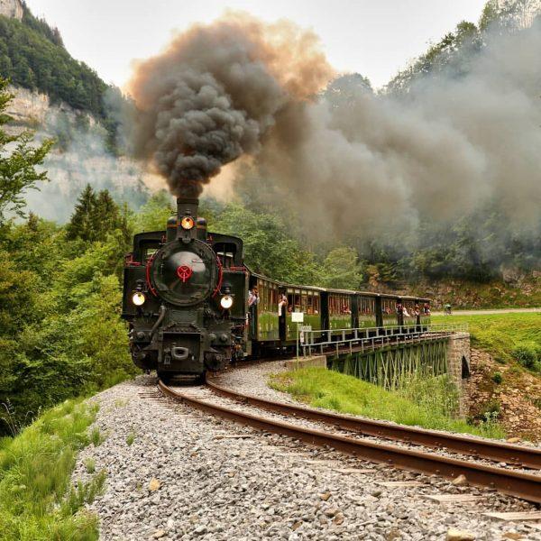 Trainspotting in Vorarlberg...unterwegs auf schmaler Spur mit dem