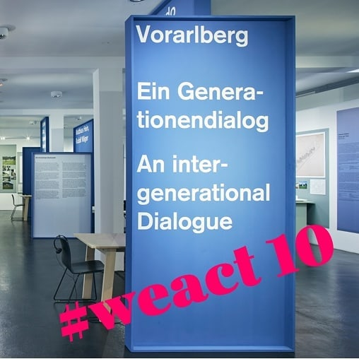 #weact #outburstofculture Schaffa, schaffa, Hüsle baua. Wirklich? 'Vorarlberg – Ein Generationendialog' heißt die aktuelle Ausstellung im @vai_architektur_institut....