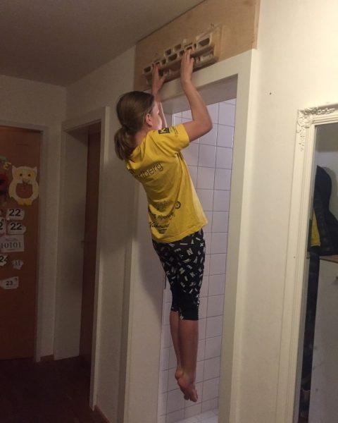 👉Der Tipp von Sophie Bickel für das Home-Training: