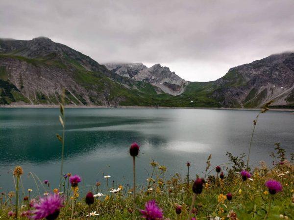 Der Lünersee...⛰️🌊 - - - #berge #mountains #nature #österreich #visitaustria #tiroleroberland #lechtal #see ...