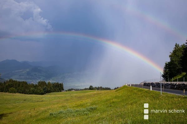 Double #Rainbow am #Bödele #schwarzenberg #vorarlberg #visitvorarlberg #visitaustria #visitbregenzerwald #faqbregenzerwald #bregenzerwald #summer #hiking ...