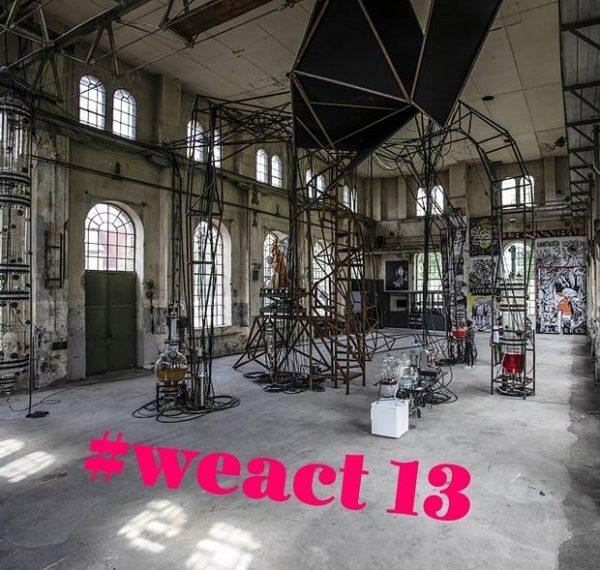 #weact #outburstofculture Wunderkammern, Videoinstallationen, hallenfüllende Plastiken... in der ehemaligen Montagehalle 🔧 des @kunstraumdornbirn ...