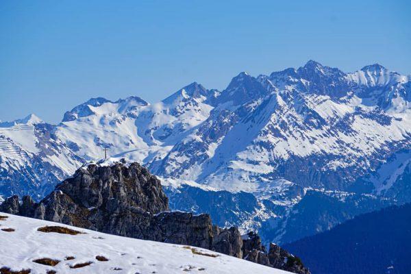 I love those views😍 #tb Winterseason #stayhome . . . #montafon #austria #mountains ...