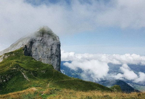 30.08.2016 Kanisfluh . Österreich 2044 m Одне з найвищих місць в яких бувала. ...
