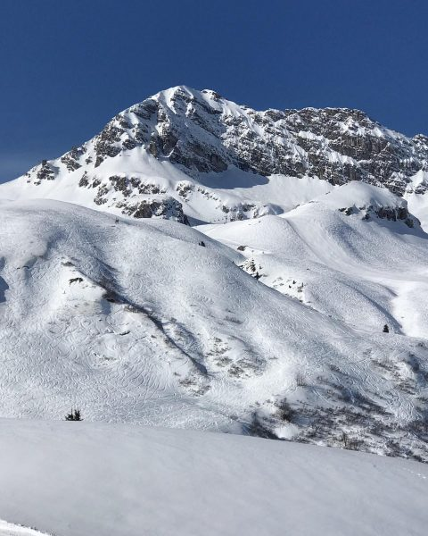 Nice day in the Alps - tomorrow it will start snowing; hope for ...
