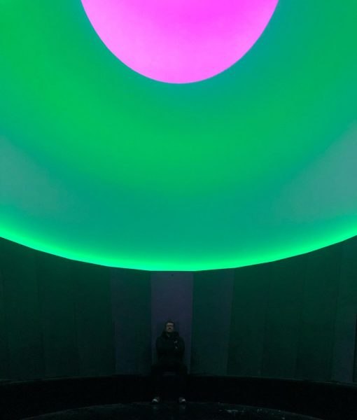 Relaxing. • • • #lech #skyspace #jamesturrell Skyspace Lech by James Turrell