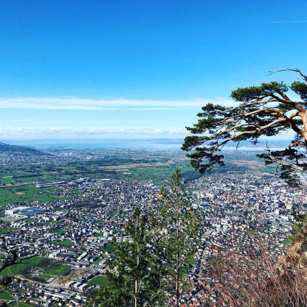 Aussicht genießen 😊 #karren #sonnegenießen #vorarlberg #bodensee #dornbirn #wandern Karren Dornbirn