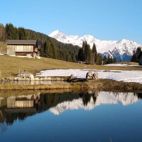 En Tag schöner wia dr ander.... #hotelsilbertal #urlaubimmontafon #meinmontafon #vorarlberg❤️ #hotelsilbertal #zeitgenießen #miarhebanzemma #muntafu Kristberg, Vorarlberg, Austria