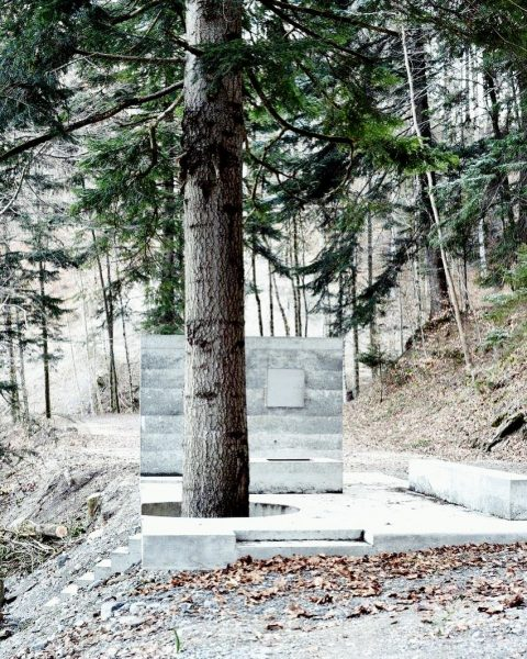 Open Air Exhibition 'Masellahütte' by Marte.Marte Architects #martemartearchitects #exhibitionbuilding #abstractarchitecture #minimalismarchitecture #architecture #concrete ...
