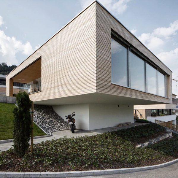 Einfamilienhaus in Tosters #archdaily #archit_magazine #schönerwohnen #futurearchitect #impression #archolution #archigram #idylle #architrendz #archmodel_ ...