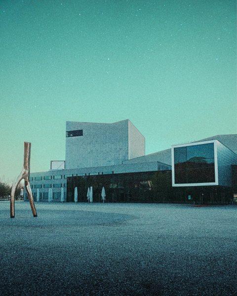 Festspielhaus Bregenz——— • • • #unsplash #ourmag #bregenz #visitbregenz #architecture #architecturephotography #geometry #urban ...