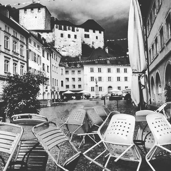 #gartenstimmung #froheostern #alleswirdgut Cafe Hecht Feldkirch