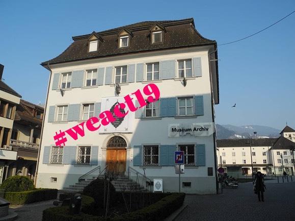 #weact #outburstofculture Das Team vom @stadtarchivdornbirn ist sehr busy: es wird digitalisiert, archiviert, ...