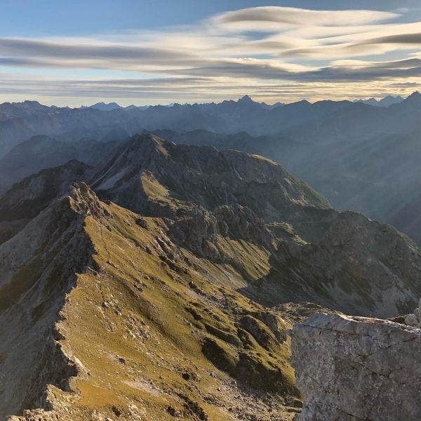...kann's kaum abwarten! ⛰ . . #mountains #klettersteig #kleinwalsertal #austria #berge #wandern #nature ...