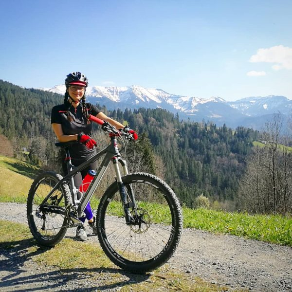 Summer is almost here! 🌄🚵‍♀️💚🚵 #mtb #enjoynature #keeppedaling #sunnyday #spring #alps #austria #vorarlberg ...